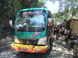 Bus from Dili to Baucau