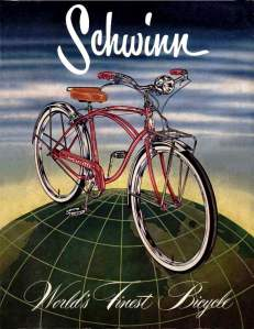 The Schwinn was something like this.