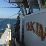 Yakin - the purse seiner that we got to follow. What an amazing experience. I want to spend more time on this boat!