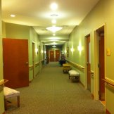 The corridors of Peter Becker retirement community where my grandmother lived.