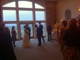 It rained a bit on the wedding day but it was a great ceremony and party.