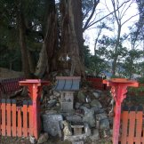 There are small shrines all along the trail.