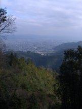 Views of Kyoto along the way.