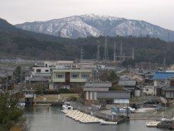 Beautiful little lake side fishing town near Takashima.