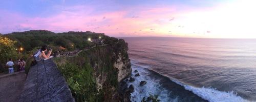 Uluwatu, Bali sunset
